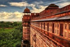 Het Fort van Agra stock fotografie