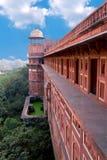 Het Fort van Agra Stock Foto's