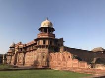 Het Fort van Agra stock afbeelding