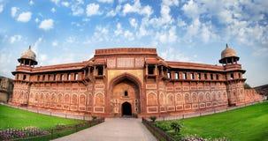 Het fort van Agra in India Stock Afbeelding