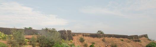 Het fort van Bekal Stock Foto's