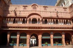 Het fort van Bikaner Stock Afbeeldingen