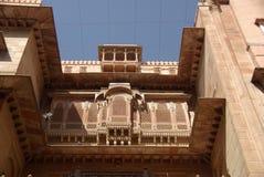 Het fort van Bikaner Stock Foto's