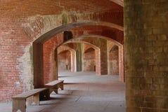 Het fort van de baksteen Stock Foto's