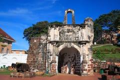 Het Fort van Famosa van A Stock Fotografie
