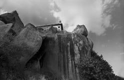 Het Fort van Golcunda in hyderabad-India. Stock Foto's