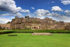 Het fort van Golkonda Royalty-vrije Stock Fotografie