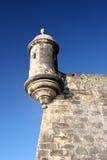 Het fort van Gr Morro in oud San Juan Stock Afbeelding