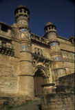 Het Fort van Gwalior Stock Afbeelding