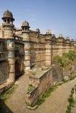 Het Fort van Gwalior - India Royalty-vrije Stock Afbeeldingen