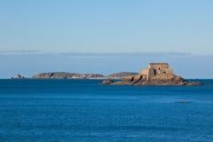 Het Fort van heilige Malo Stock Foto