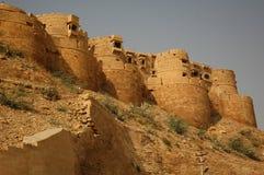 Het fort van Jaisalmer stock afbeeldingen