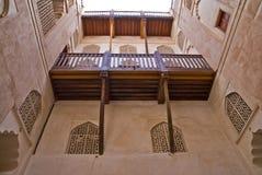 Het fort van Jibreen Royalty-vrije Stock Afbeeldingen