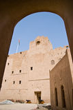 Het fort van Jibreen Stock Afbeeldingen