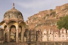 Het Fort van Jodhpur Stock Afbeelding