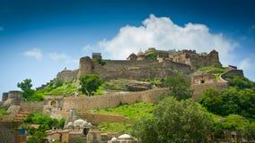 Het Fort van Kumbhalgarh stock afbeelding