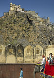 Het Fort van Kumbhalgarth - Rajasthan - India Royalty-vrije Stock Foto