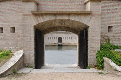 Het Fort van Kungsholm, Karlskrona, Zweden royalty-vrije stock foto