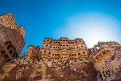Het Fort van Mehrangarh, Jodhpur Stock Afbeelding