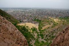 Het Fort van Nahargarh stock afbeeldingen