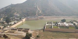Het Fort van Nahargarh stock afbeelding