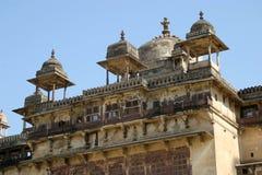 Het fort van Orchha, India Stock Foto