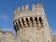 Het fort van Rhodos Royalty-vrije Stock Fotografie