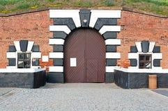 Het Fort van Terezin Royalty-vrije Stock Foto's