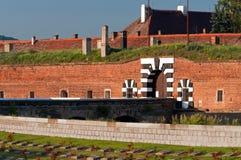 Het Fort van Terezin royalty-vrije stock afbeeldingen