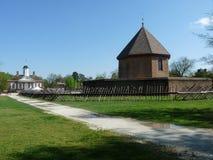 Het fort van Williamsburg stock afbeelding