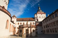 Het Fort van Wurzburg Stock Foto