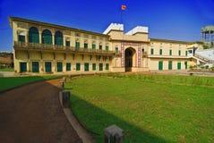 Het Fort Varanasi van Ramnagar Stock Foto's