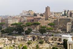 Het forum Italië van Rome Royalty-vrije Stock Fotografie