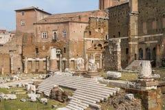 Het forum Italië van Rome Royalty-vrije Stock Afbeeldingen