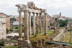 Het forum Italië van Rome Stock Foto's