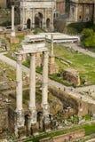Het forum Italië van Rome Stock Afbeelding