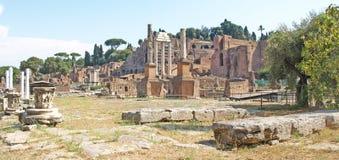 Het forum, Rome royalty-vrije stock foto's