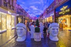 Het Forum shoping wandelgalerij van Las Vegas Stock Afbeeldingen