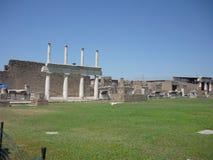 Het Forum van Pompei Royalty-vrije Stock Afbeelding