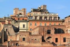 Het Forum van Rome - van Trajan Royalty-vrije Stock Afbeeldingen