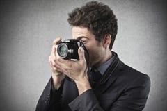 Het fotograferen stock foto's