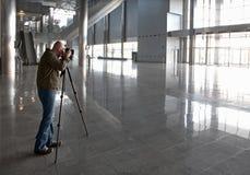 Het fotograferen van het gebouw stock fotografie