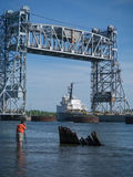 Het fotograferen van schip stock foto