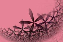 Het fractal kleurrijke abstracte madeliefje Stock Foto