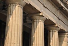 Het fragment van de kolom Royalty-vrije Stock Foto