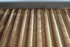 Het fragment van de radiator Stock Afbeelding