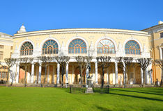 Het fragment van Pavlovsk paleis faÑade Royalty-vrije Stock Foto's
