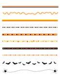 Het frame/de verdeler van Halloween royalty-vrije illustratie