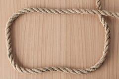 Het frame maakt van kabel royalty-vrije stock fotografie