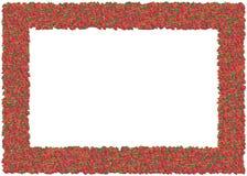 Het Frame van aardbeien vector illustratie